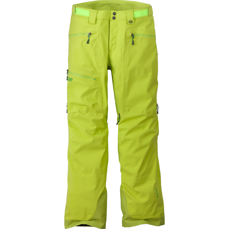 Outdoor Research - Men´s White Room Pants 489-LEMONGRASS - Rain Jackets - M