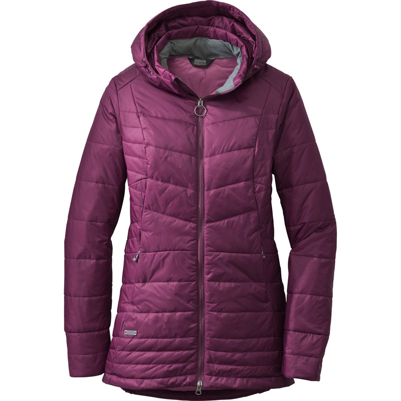 Outdoor Research Women´s Breva Parka Orchid/Crocus-30