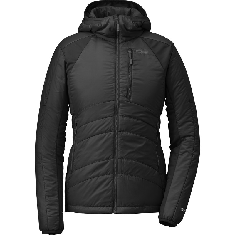 Outdoor Research Women´s Cathode Hoody 189-BLACK/CHARCOAL-30
