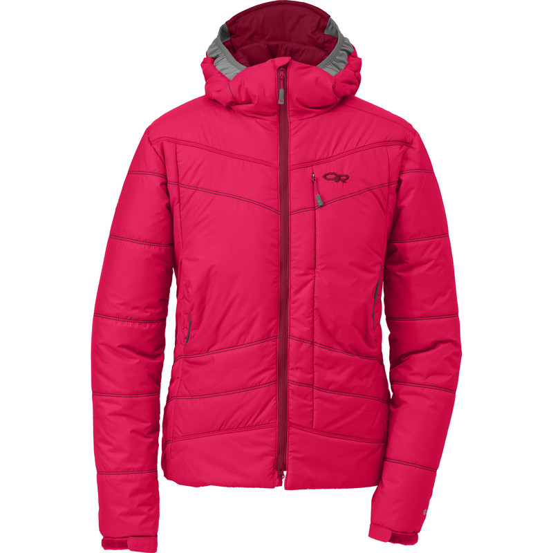 Outdoor Research Women´s Chaos Jacket 155-DESERT SUNRISE/MULBERRY-30