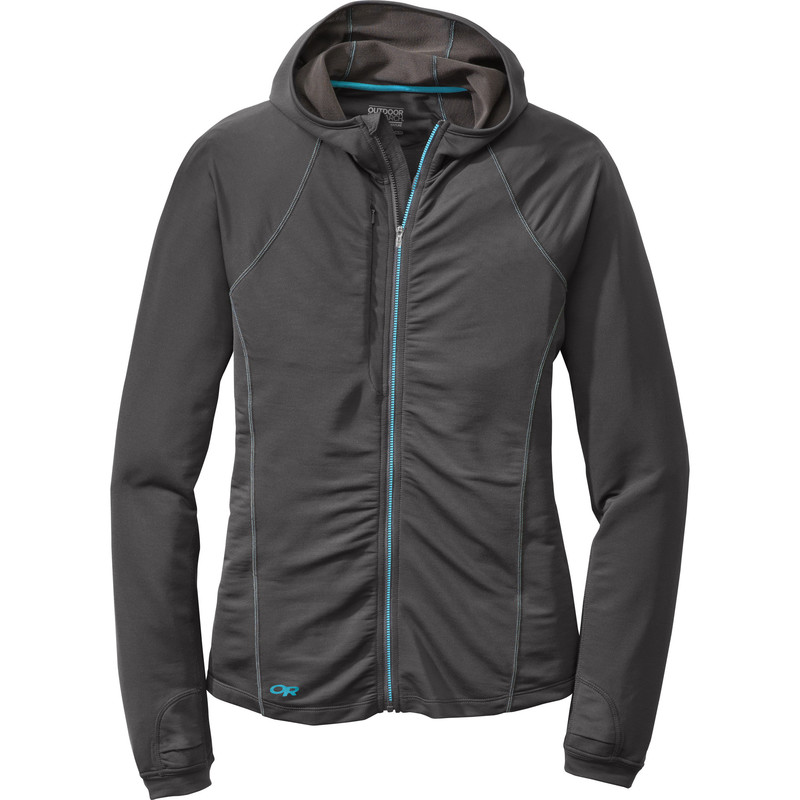 Outdoor Research Women´s Delta Hoody 890-CHARCOAL-30
