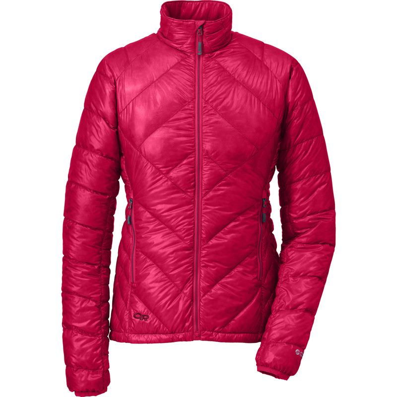 Outdoor Research Women´s Filament Jacket Desert Sunrise/Mulberry-30