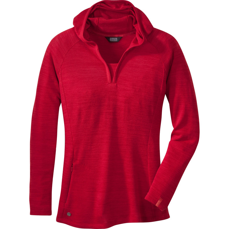 Outdoor Research Women´s Hush L/S Hoody 80B-ADOBE-30