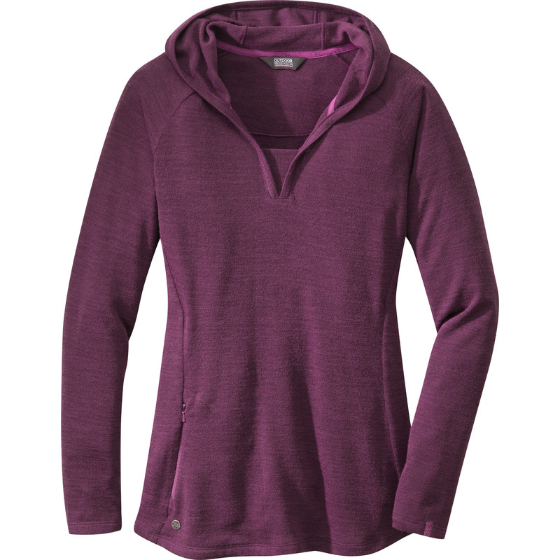 Outdoor Research Women´s Hush L/S Hoody 380-ORCHID-30