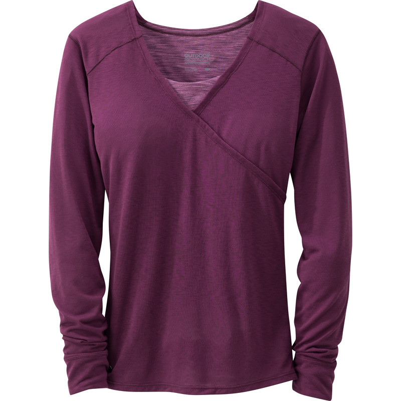 Outdoor Research Women´s Mystic L/S Shirt 380-ORCHID-30