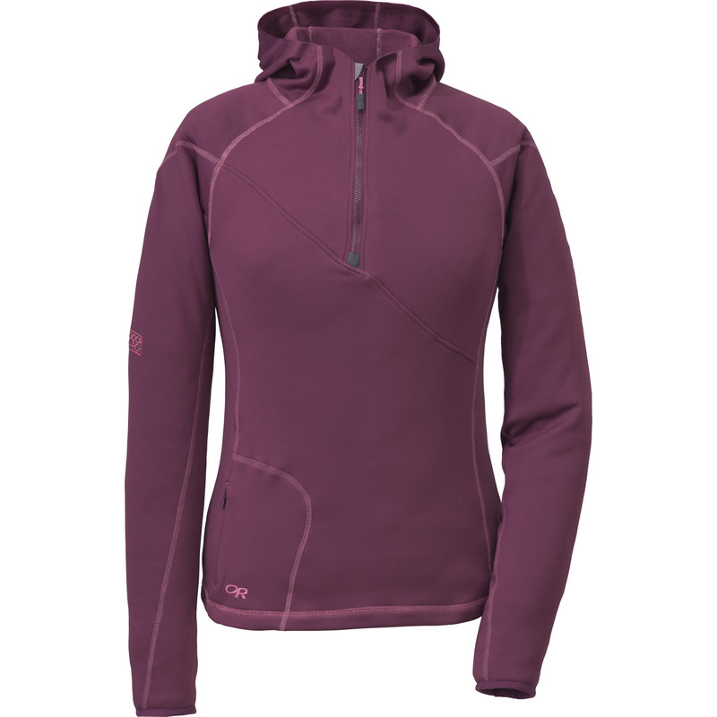 Outdoor Research Women´s Radiant HD Half-Zip Hoody 380-ORCHID-30