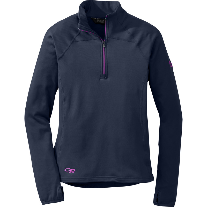 Outdoor Research Women´s Radiant LT Zip Top 59B-NIGHT/ULTRAVIOLET-30