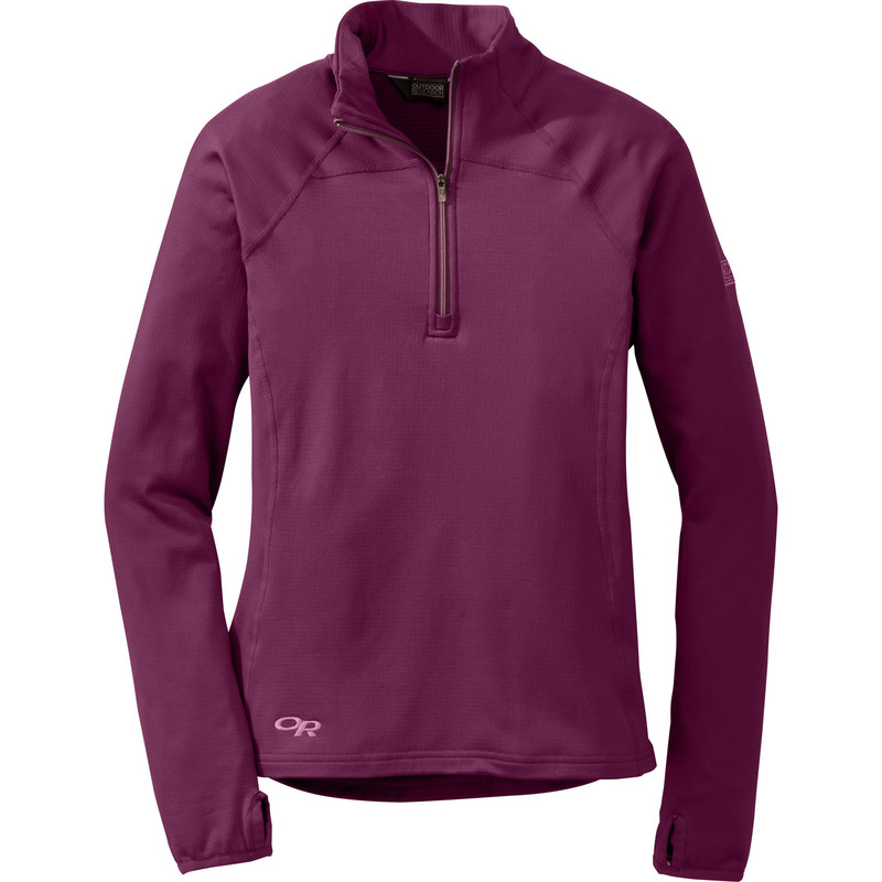 Outdoor Research Women´s Radiant LT Zip Top 380-ORCHID-30
