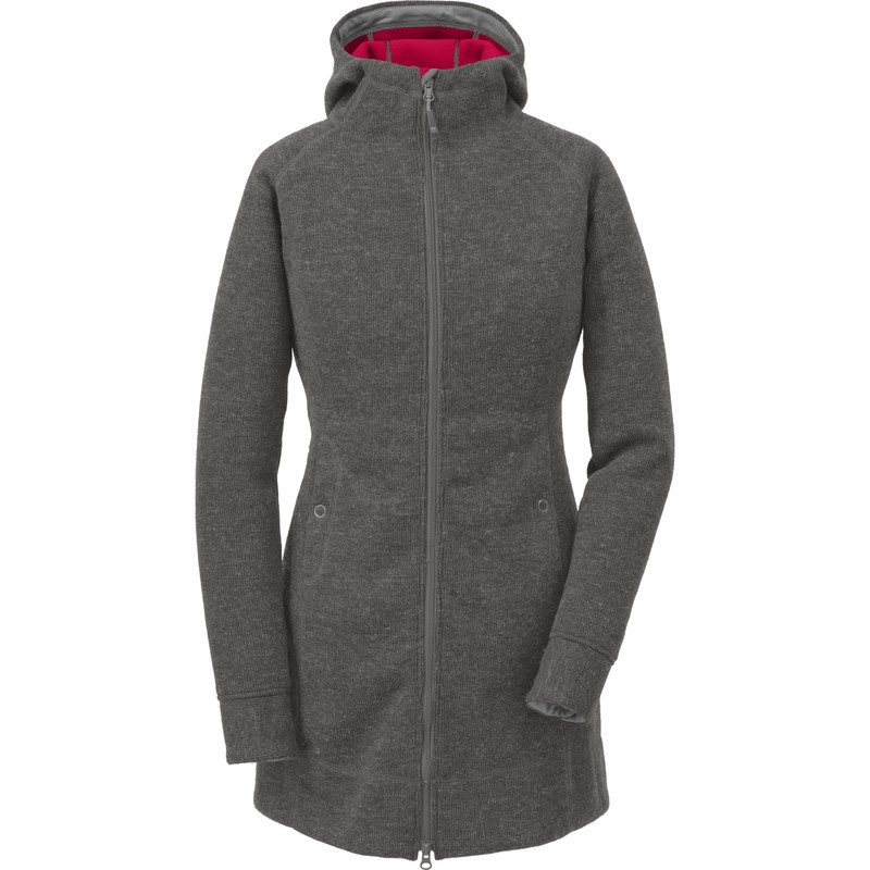 Outdoor Research Women´s Long Salida Hoody Pewter-30