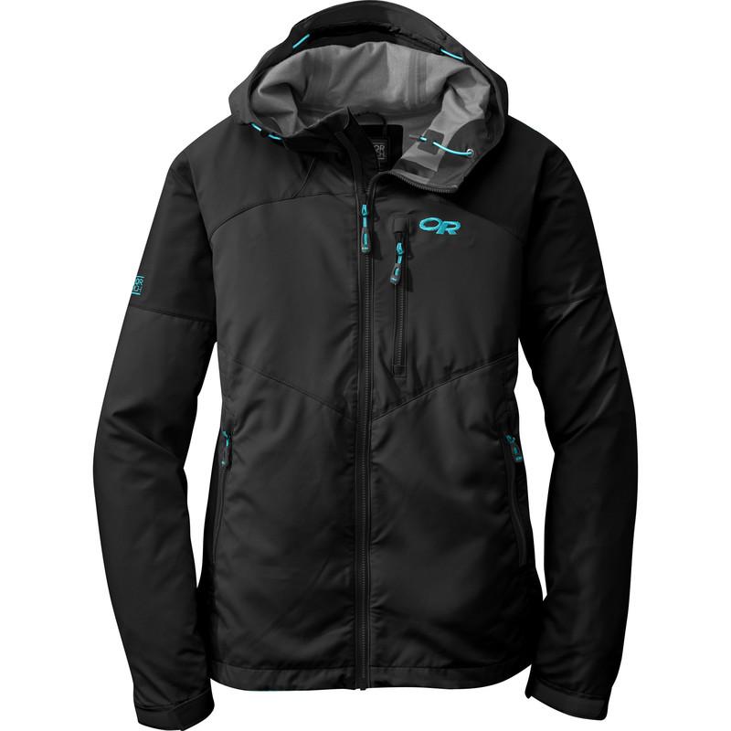 Outdoor Research Women´s Trailbreaker Jacket Black/Rio-30