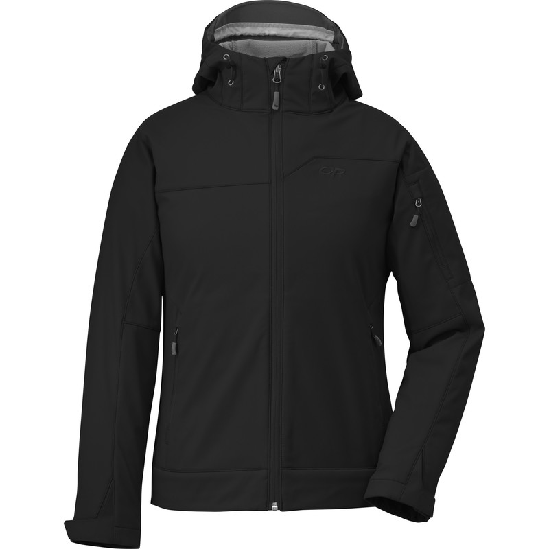 Outdoor Research Women´s Transfer Hoody 001-BLACK-30