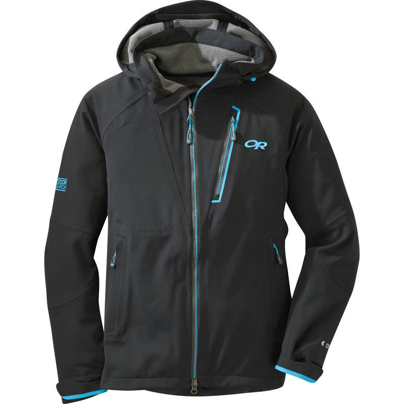 Outdoor Research Women´s Trickshot (Paradox) Jacket 21B-BLACK/RIO-30
