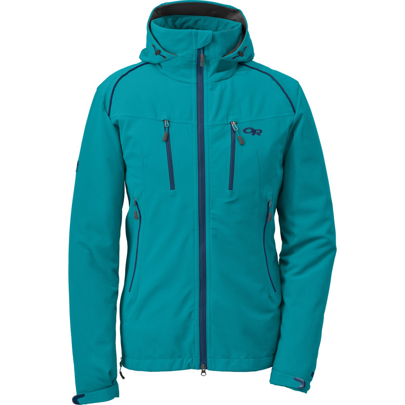 Outdoor Research Women´s Valhalla Jacket 148-ALPINE LAKE/ABYSS-30