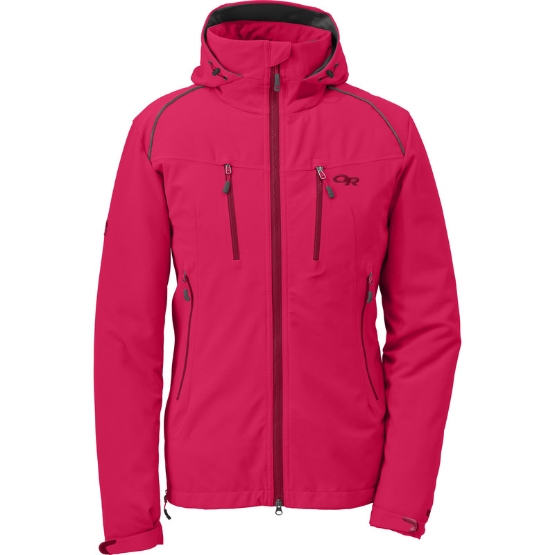 Outdoor Research Women´s Valhalla Jacket 155-DESERT SUNRISE/MULBERRY-30
