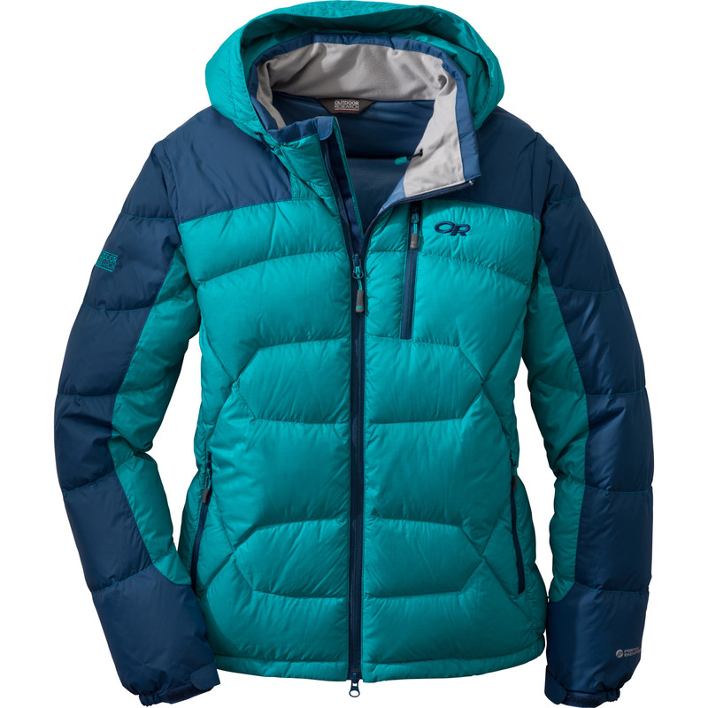 Outdoor Research Women´s Virtuoso Hoody 148-ALPINE LAKE/ABYSS-30