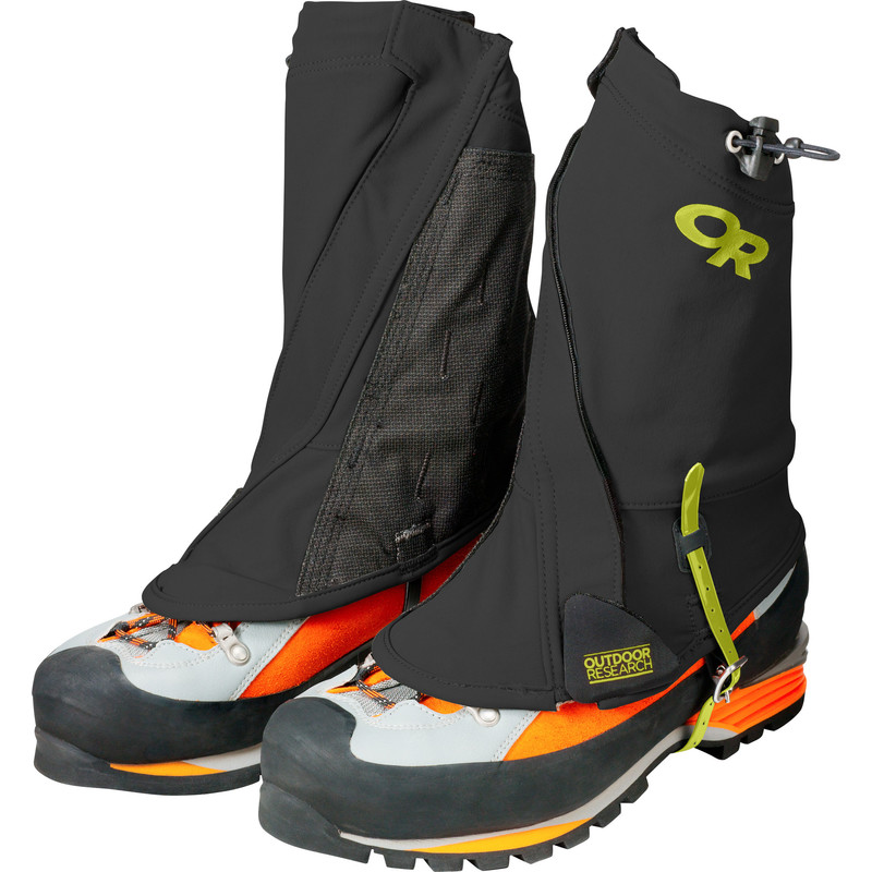 Outdoor Research Endurance Gaiters Black/Lemongrass-30