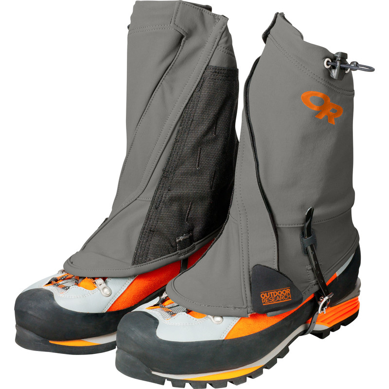 Outdoor Research Endurance Gaiters Pewter/Ember-30