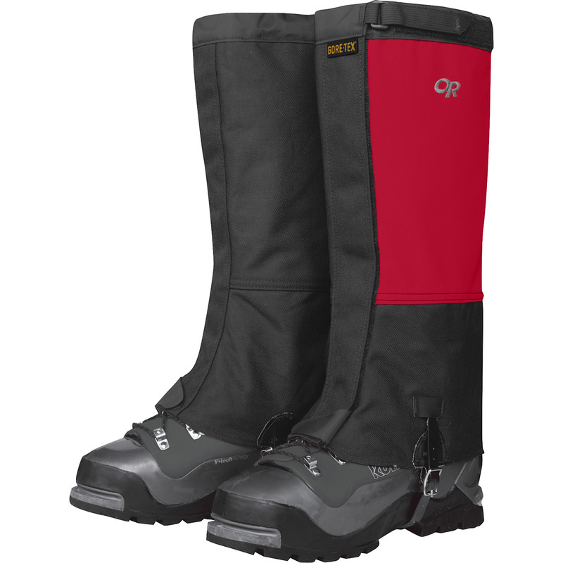 Outdoor Research Expedition Crocodiles 413-CHILI/BLACK-30