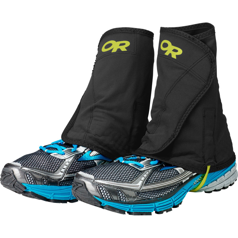 Outdoor Research Men´s Wrapid Gaiters Black/Lemongrass-30