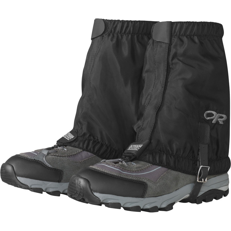 Outdoor Research Rocky MTN Low Gaiters 001-BLACK-30