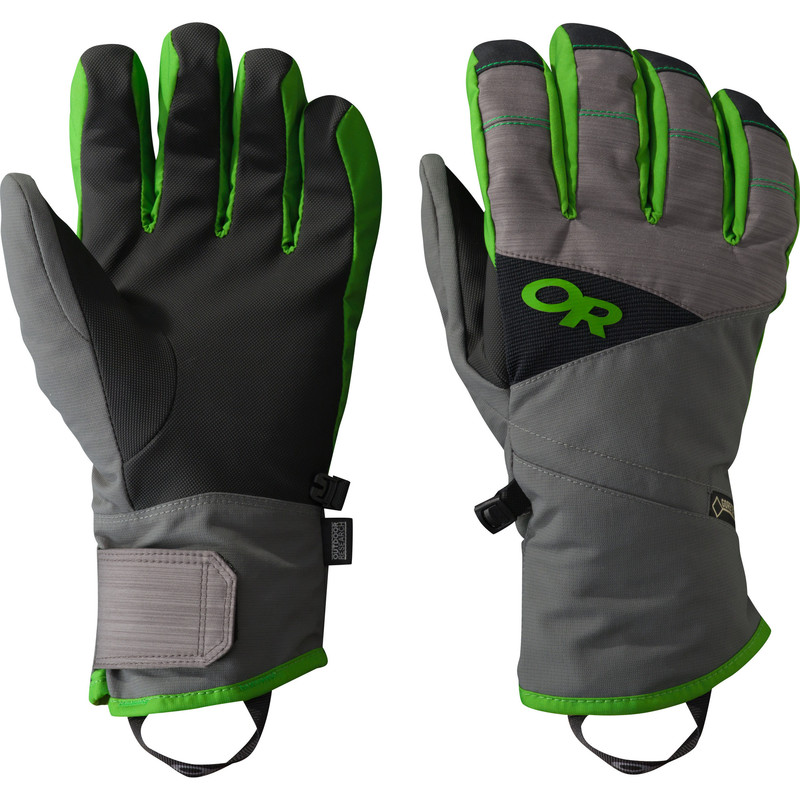 Outdoor Research Men´s Centurion Gloves Charcoal/Flash-30