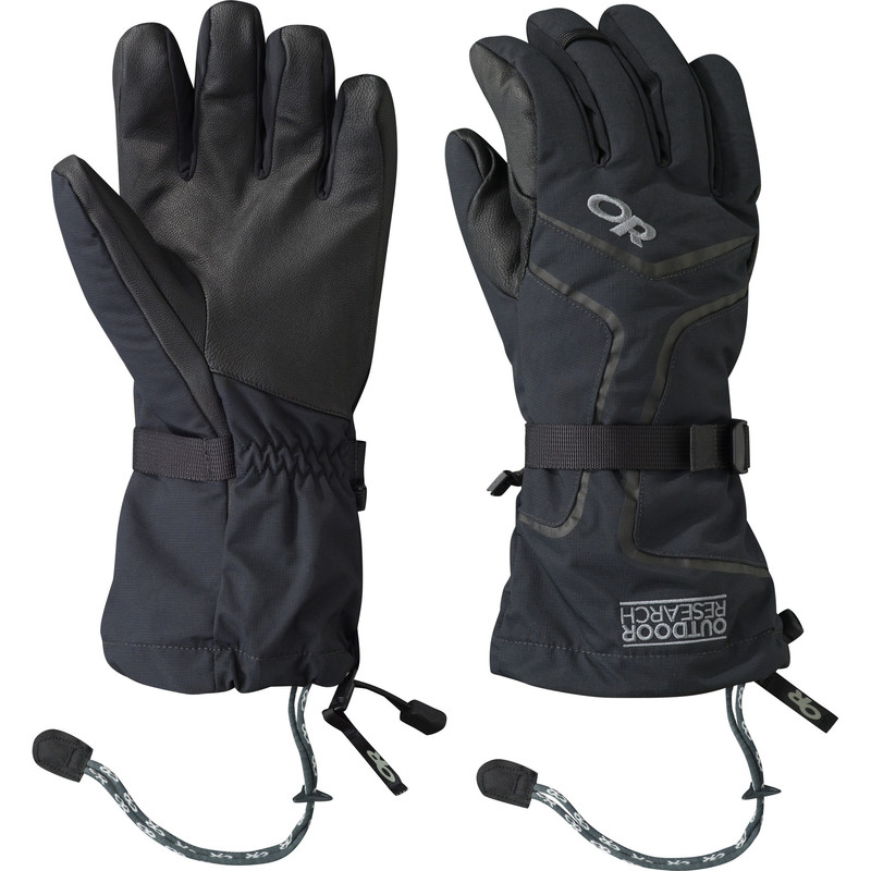 Outdoor Research Men´s Highcamp Gloves 001-BLACK-30