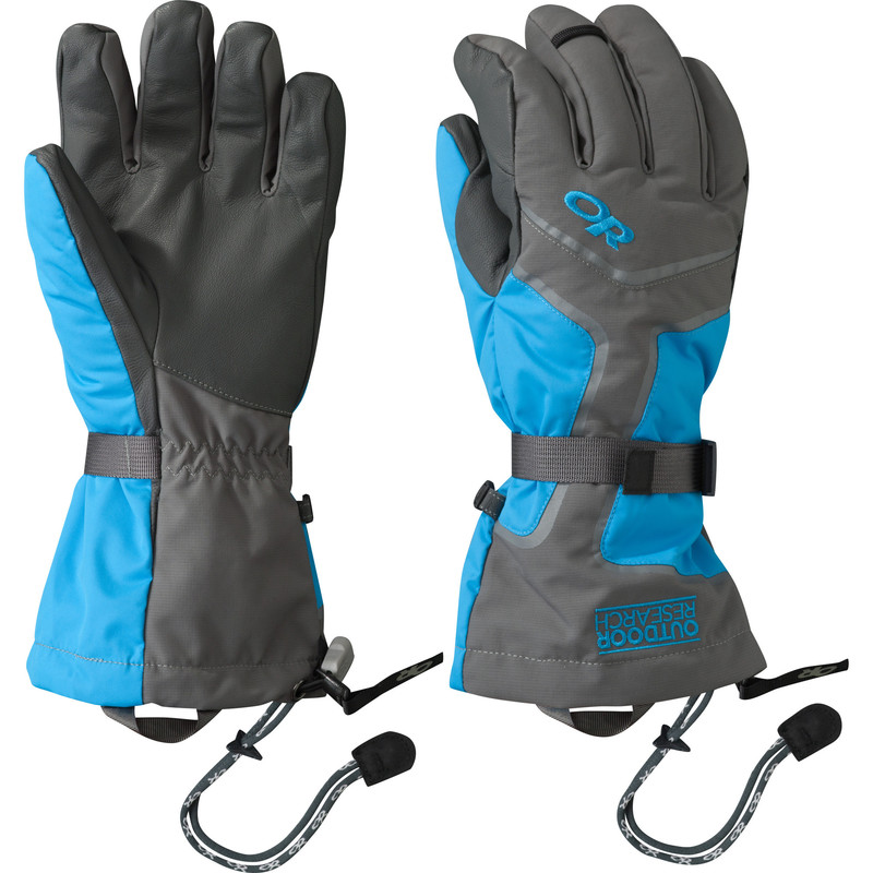 Outdoor Research Men´s Highcamp Gloves Charcoal/Hydro/Pewter-30