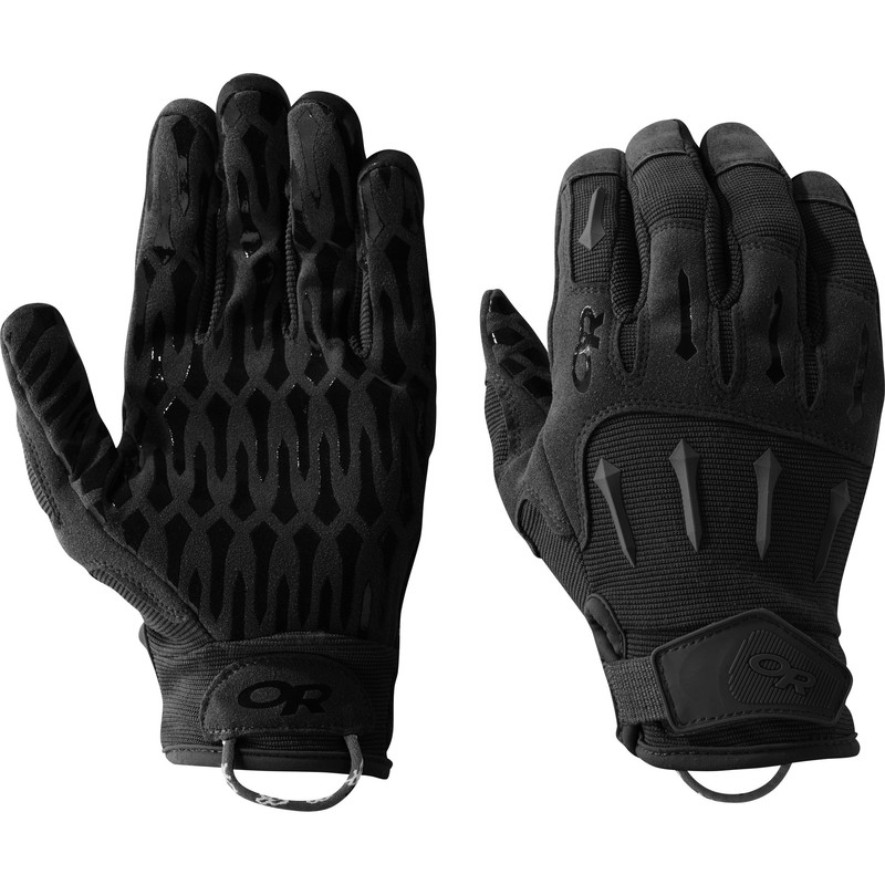Outdoor Research Ironsight Gloves 111-ALL BLACK-30
