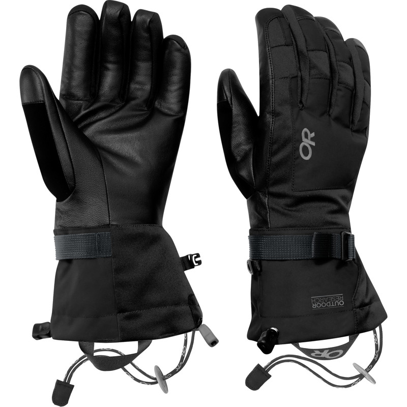 Outdoor Research Men´s Revolution Gloves 001-BLACK-30