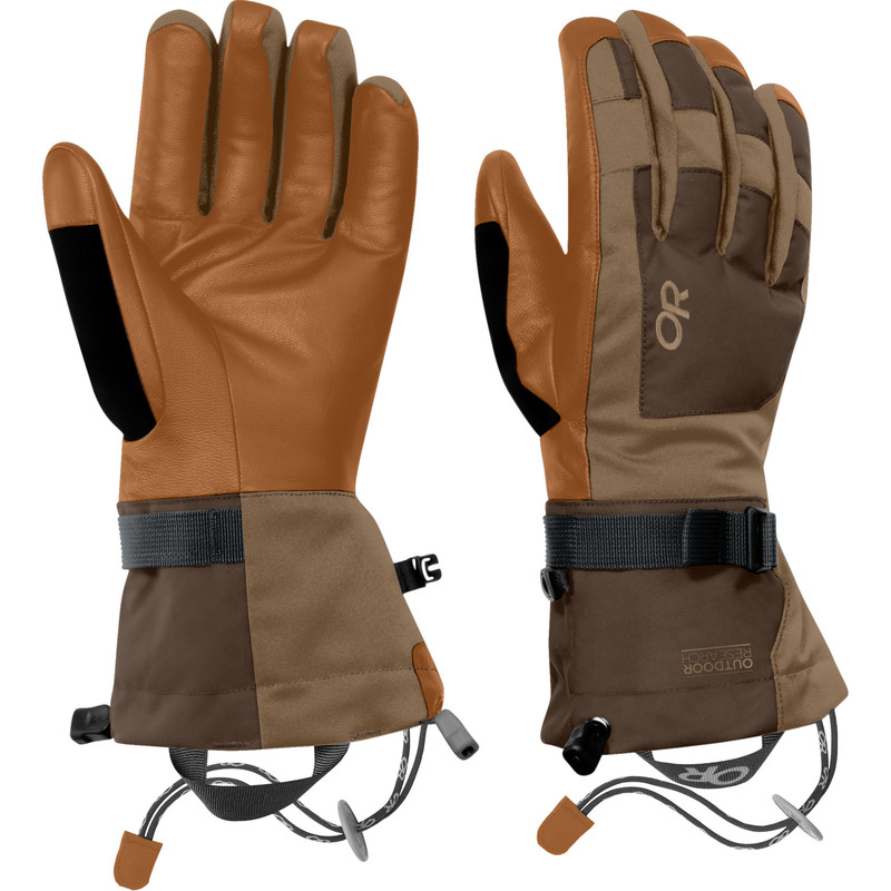 Outdoor Research Men´s Revolution Gloves 085-EARTH/CAFE-30