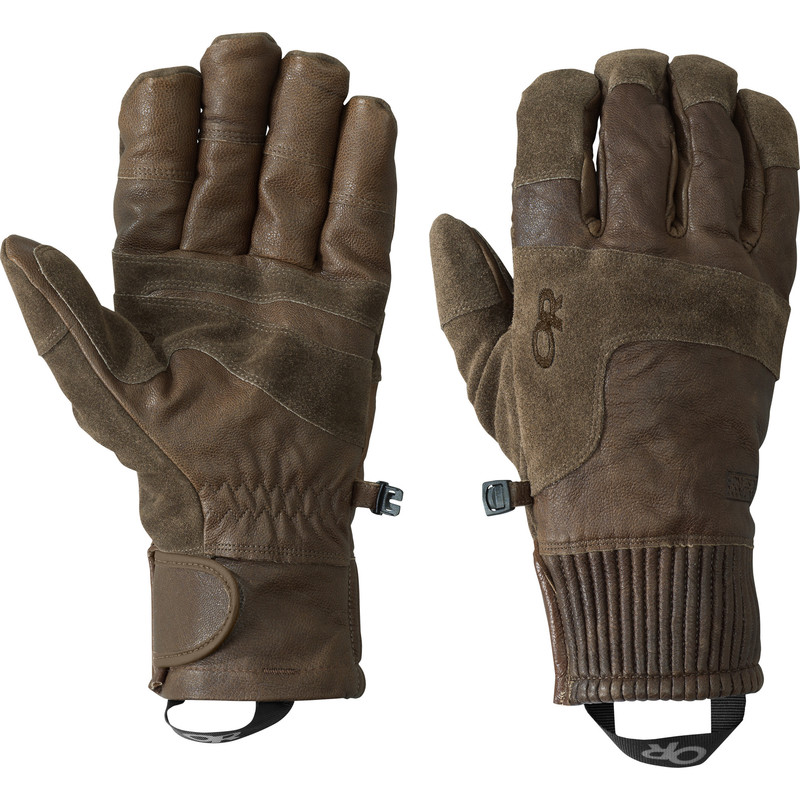 Outdoor Research Men´s Rivet Gloves 785-COFFEE-30