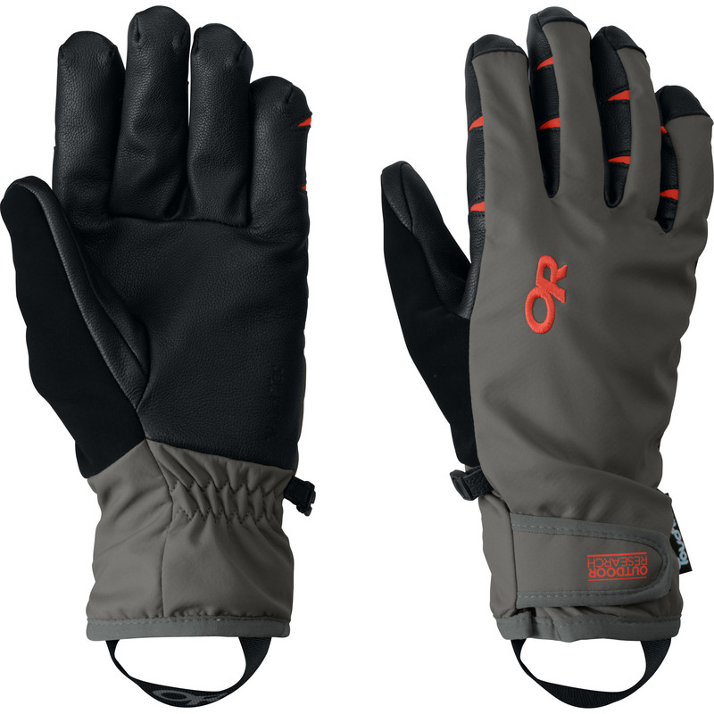 Outdoor Research Men´s StormSensor Gloves Pewter/Diablo-30