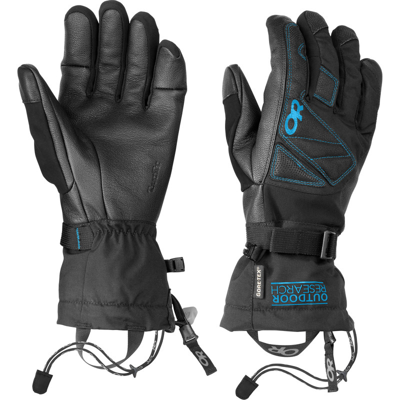 Outdoor Research Northback Sensor Gloves 129-BLACK/HYDRO-30
