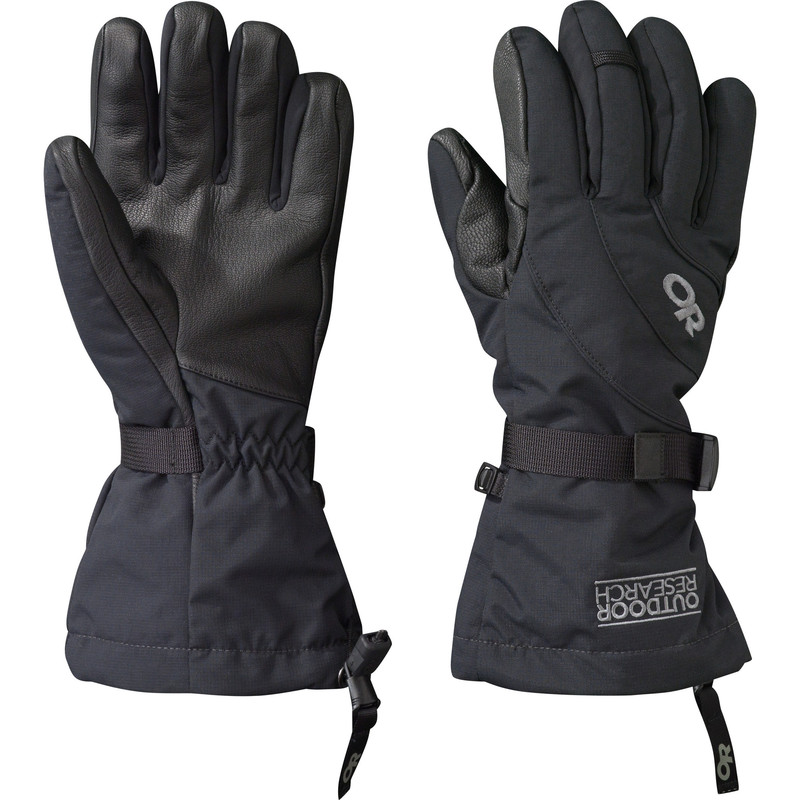 Outdoor Research Women´s Highcamp Gloves Black-30