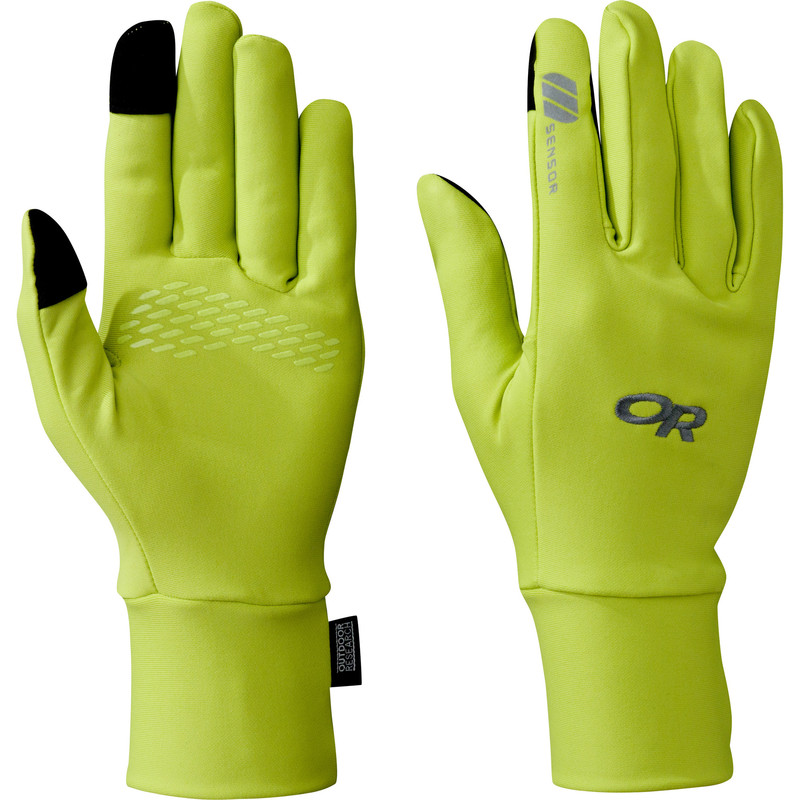 Outdoor Research Women´s Base Sensor Gloves Lemongrass-30