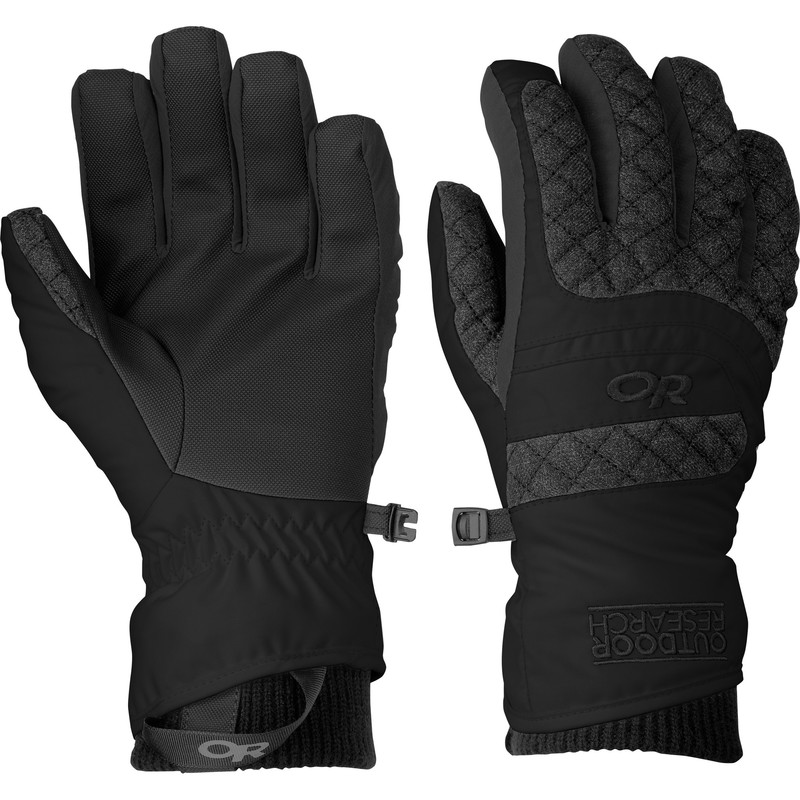 Outdoor Research Women´s Riot Gloves Black-30