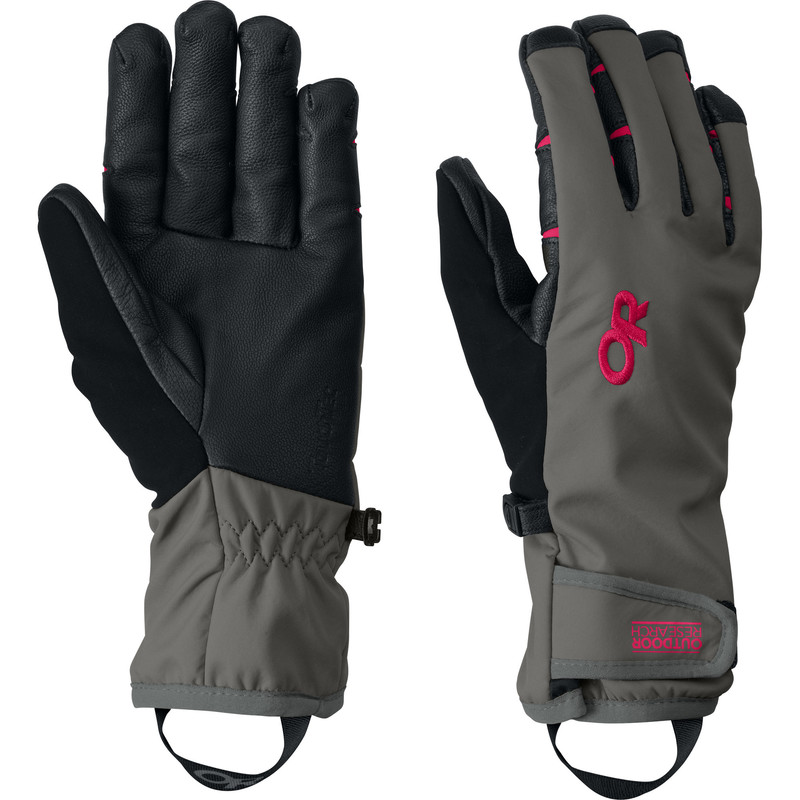 Outdoor Research Women´s StormSensor Gloves 089-PEWTER/DESERT SUNRISE-30