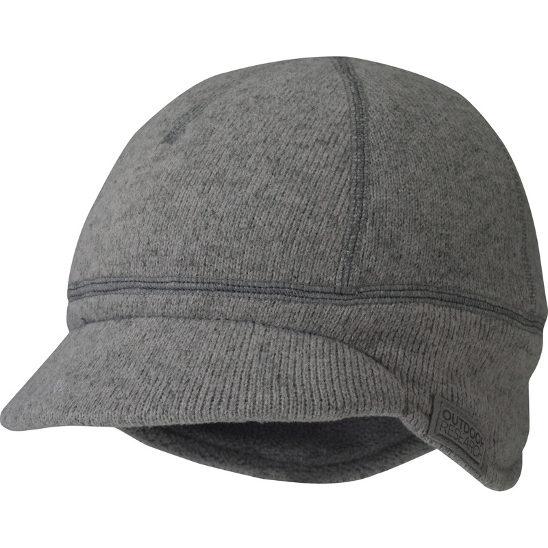 Outdoor Research Kids Longhouse Cap 008-PEWTER-30