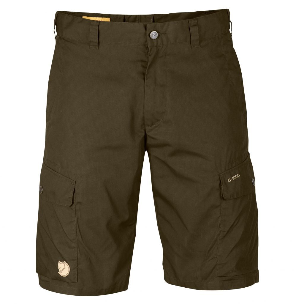 FjallRaven Ruaha Shorts Dark Olive-30