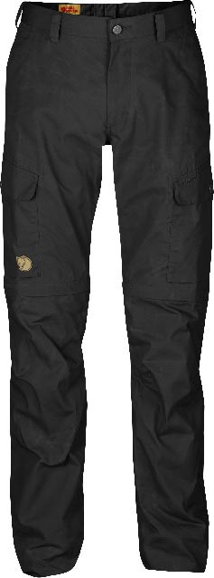 FjallRaven Ruaha Zip-Off Trousers Dark Grey-30
