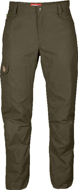 FjallRaven Sandra Trousers Dark Olive-30