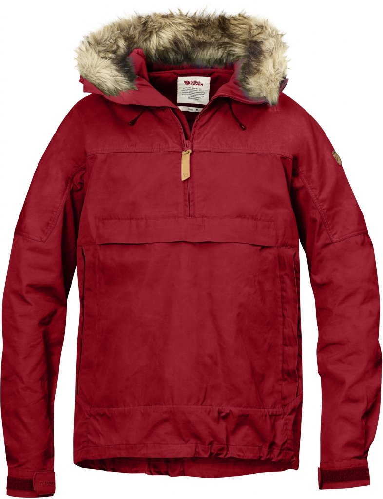 FjallRaven Sarek Anorak Deep Red-30