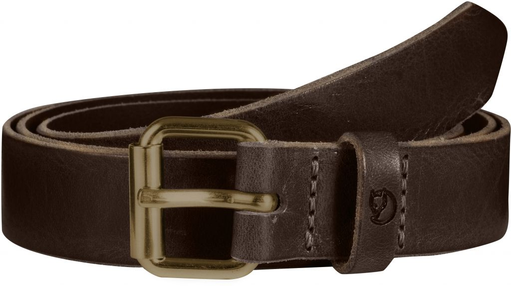 FjallRaven Sarek Belt 2,5 cm. Leather Brown-30