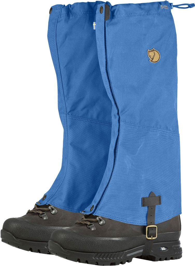 FjallRaven Sarek Gaiters UN Blue-30