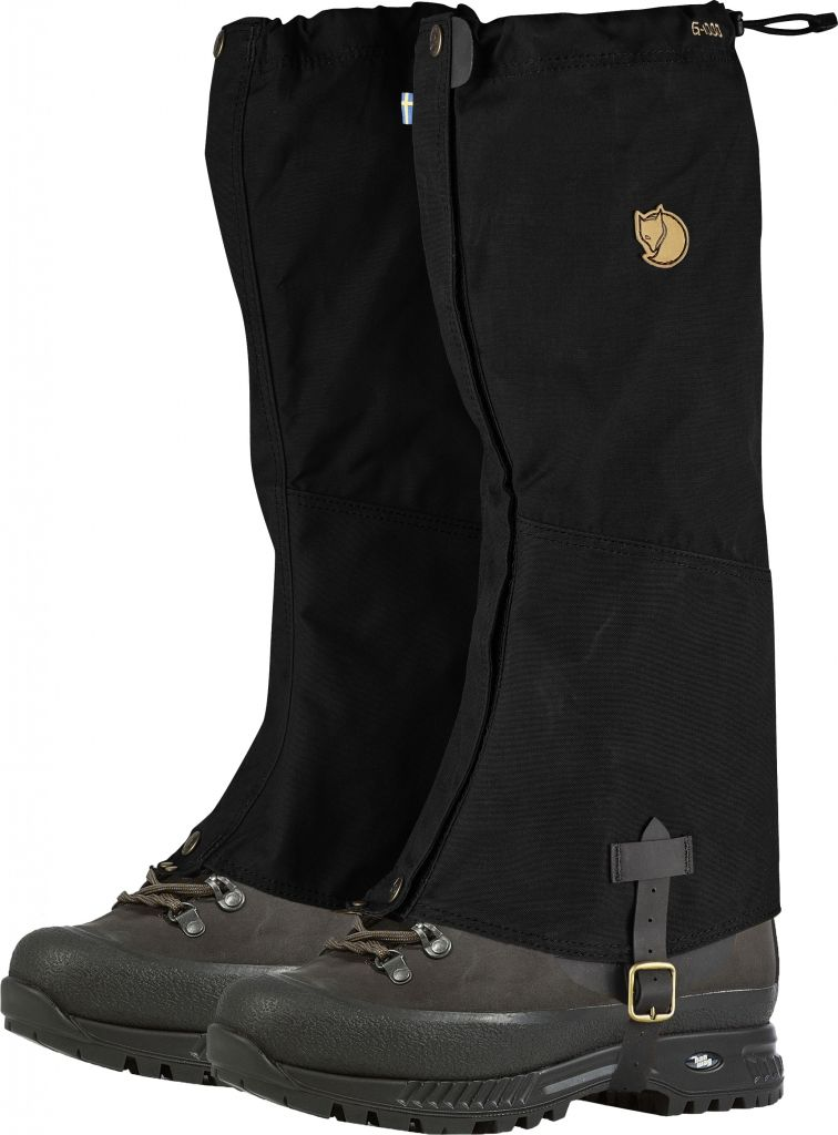 FjallRaven Sarek Gaiters Black-30