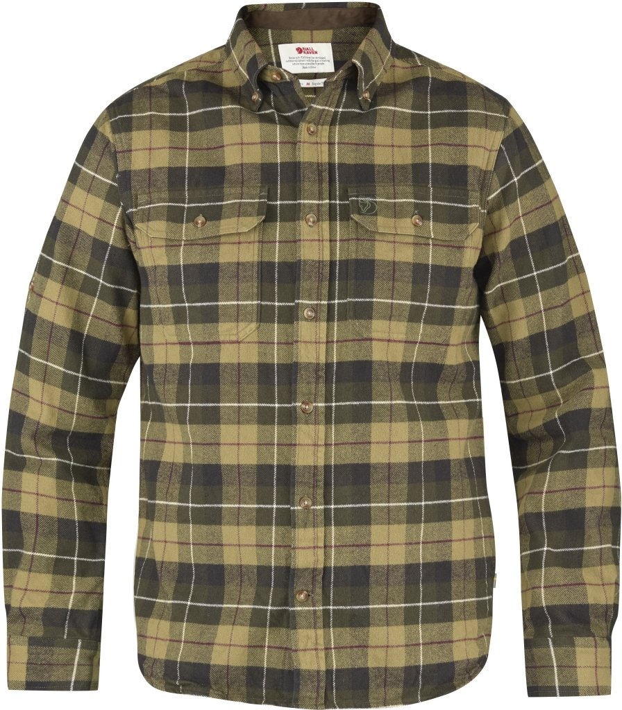 FjallRaven Sarek Heavy Flannel Shirt Green-30