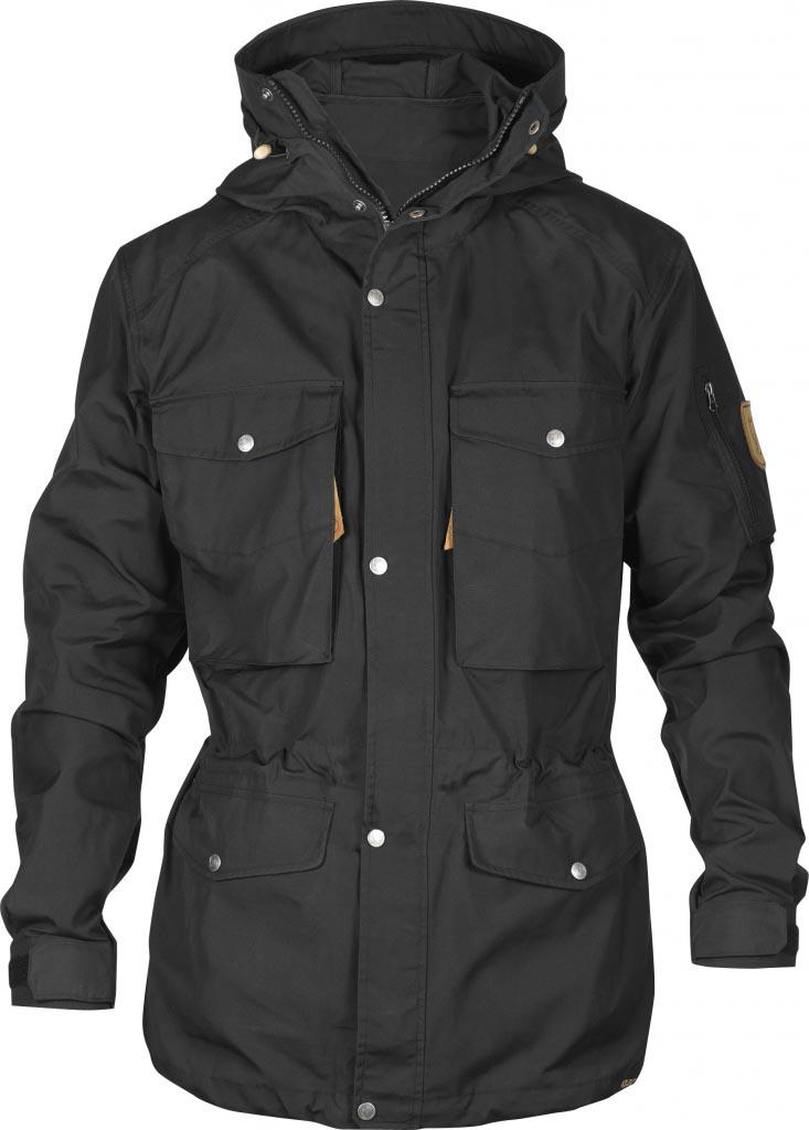 FjallRaven Sarek Trekking Jacket Black-30