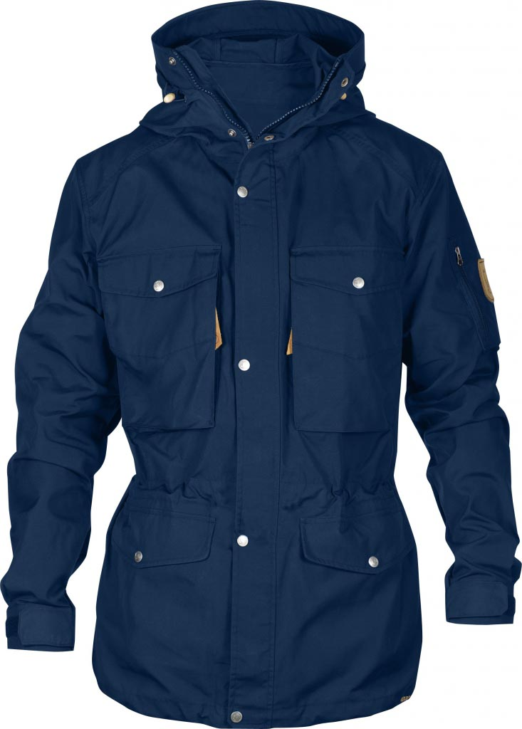 FjallRaven Sarek Trekking Jacket Ink Blue-30