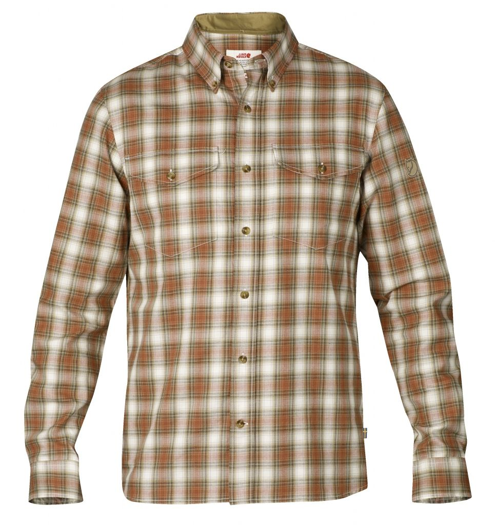 FjallRaven Sarek Shirt LS Autumn Leaf-30