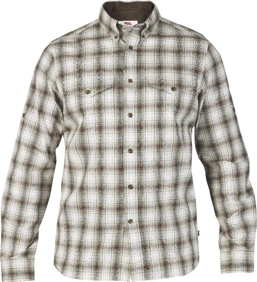 FjallRaven Sarek Shirt LS Dark Olive-30